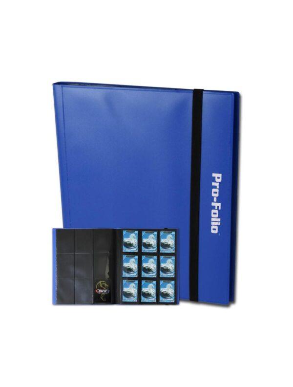 (product) Folio 9 Pocket Album  Blue