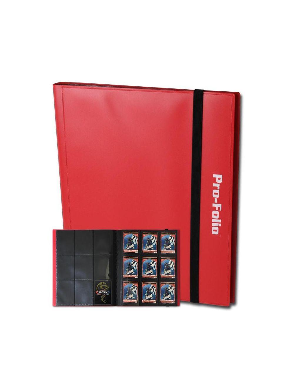 (product) Folio 9 Pocket Album  Red