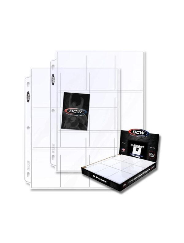 Pro 9 Pocket Page (100 CT. Box)