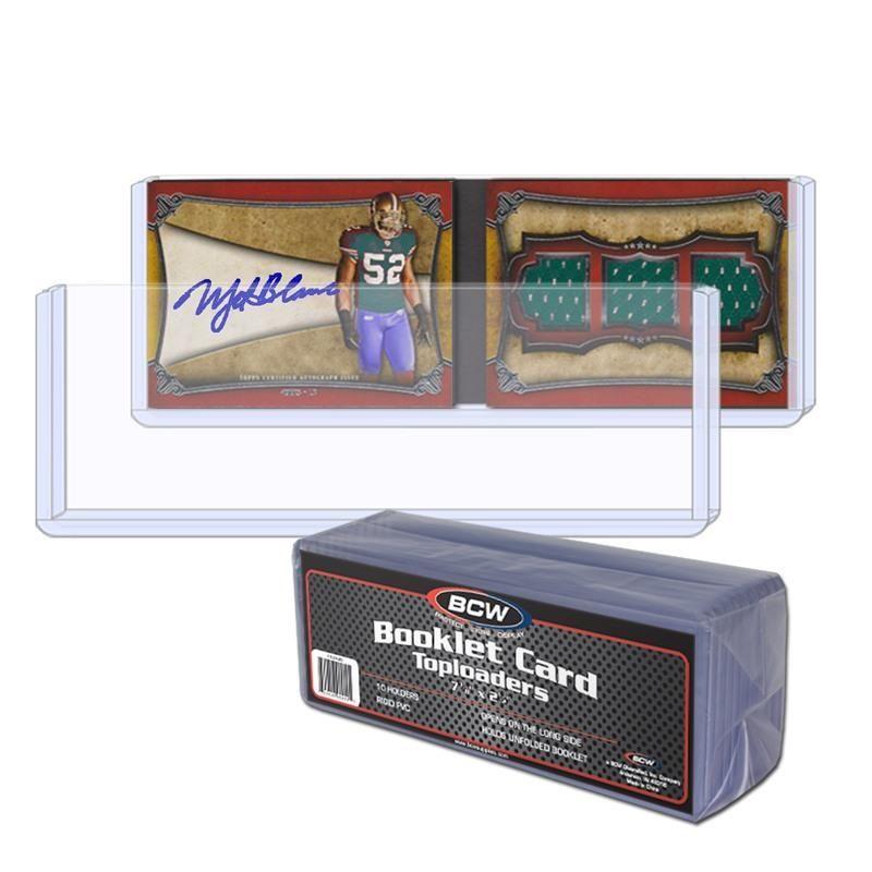 Booklet Card Topload Holder