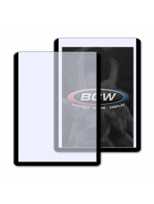 3x4 Topload Card Holder  Black Border