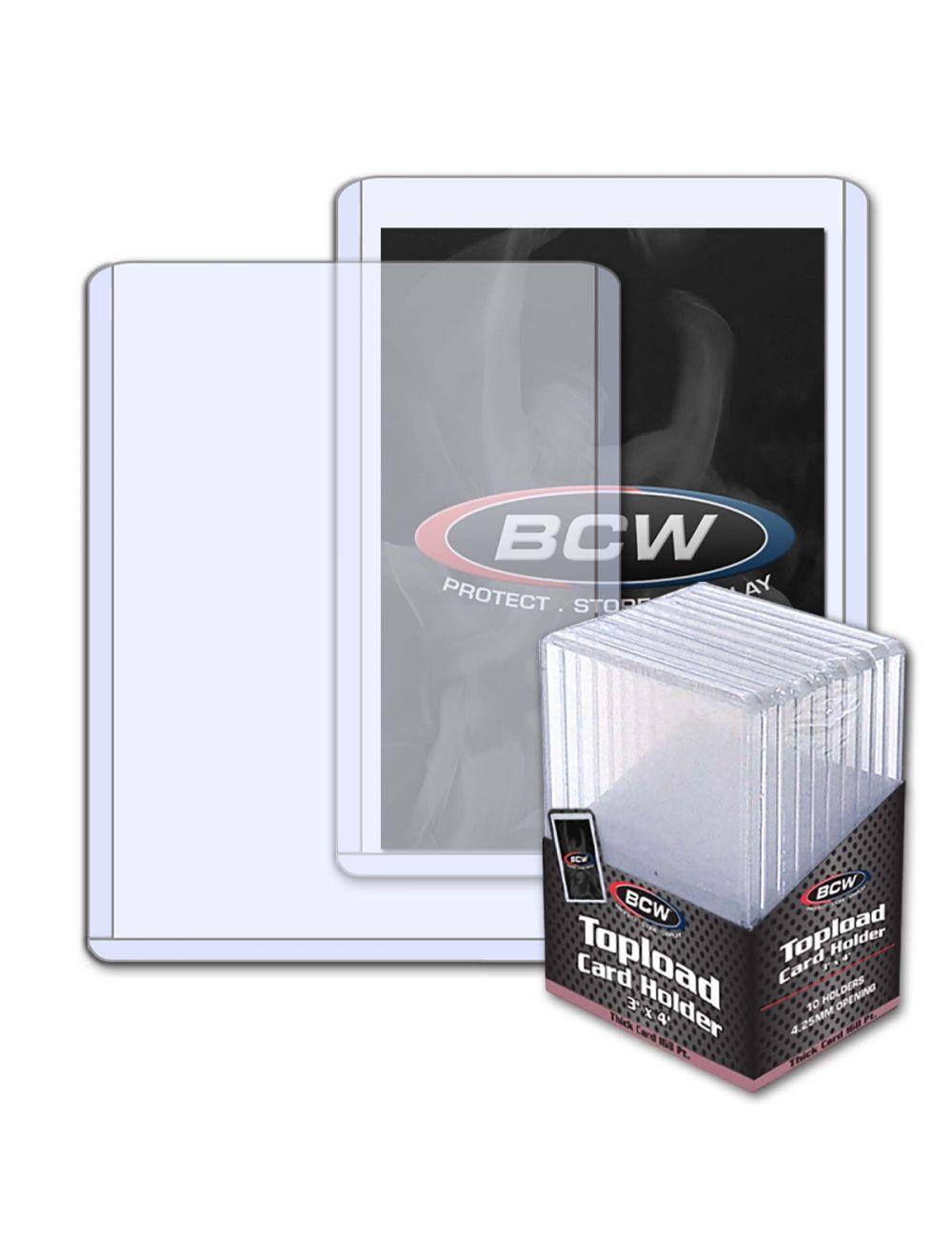 Thick Card Topload Holder  168 PT.