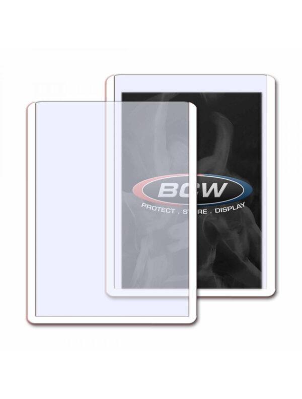 3x4 Topload Card Holder  White Border
