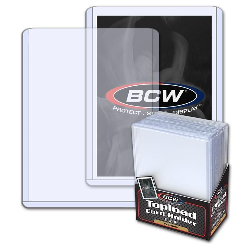 3x4 Topload Card Holder  Premium