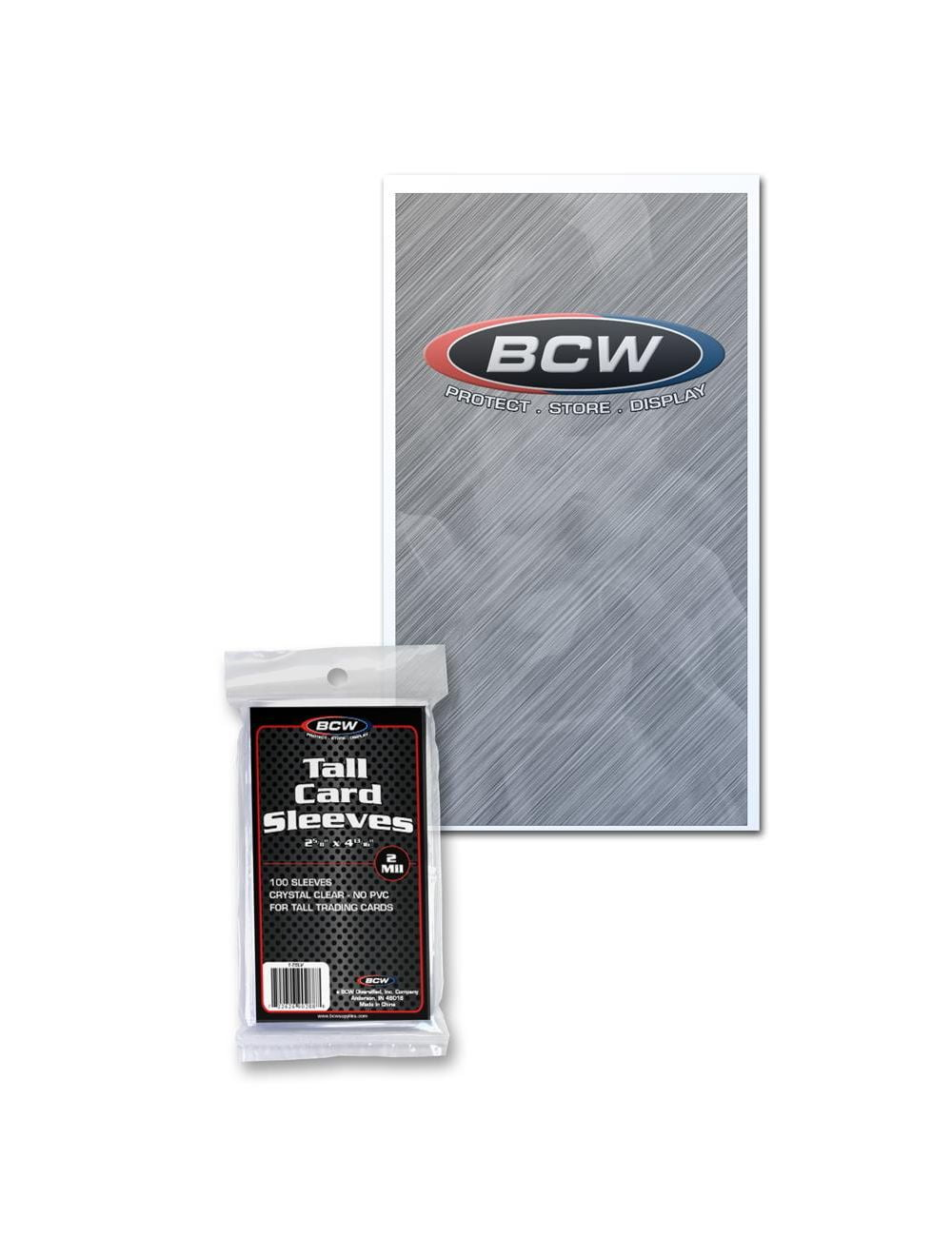 Tall Trading Card Sleeves