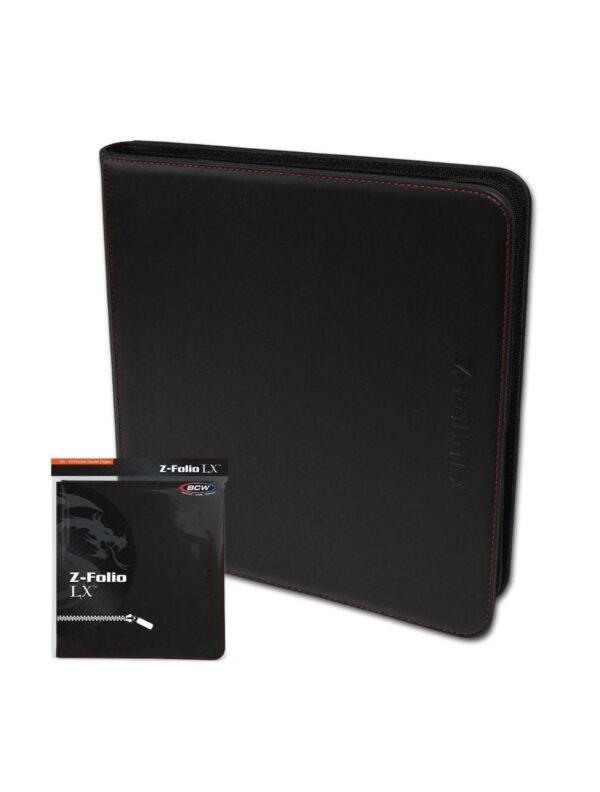 (product) Z Folio 12 Pocket LX Album  Black