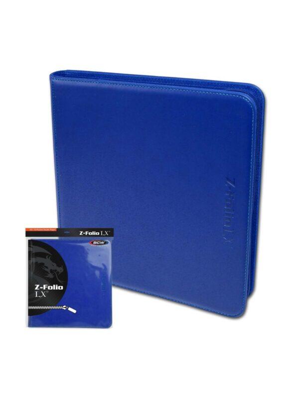 (product) Z Folio 12 Pocket LX Album  Blue