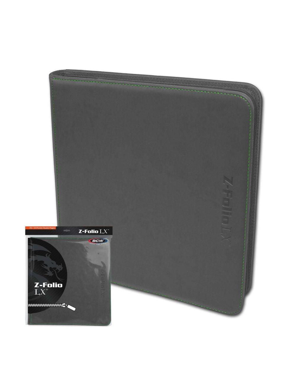 (product) Z Folio 12 Pocket LX Album  Gray