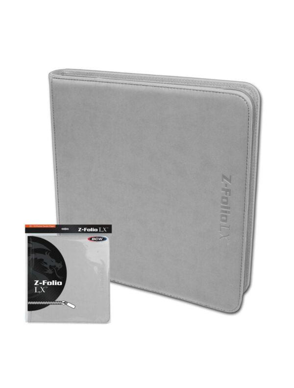 (product) Z Folio 12 Pocket LX Album  White