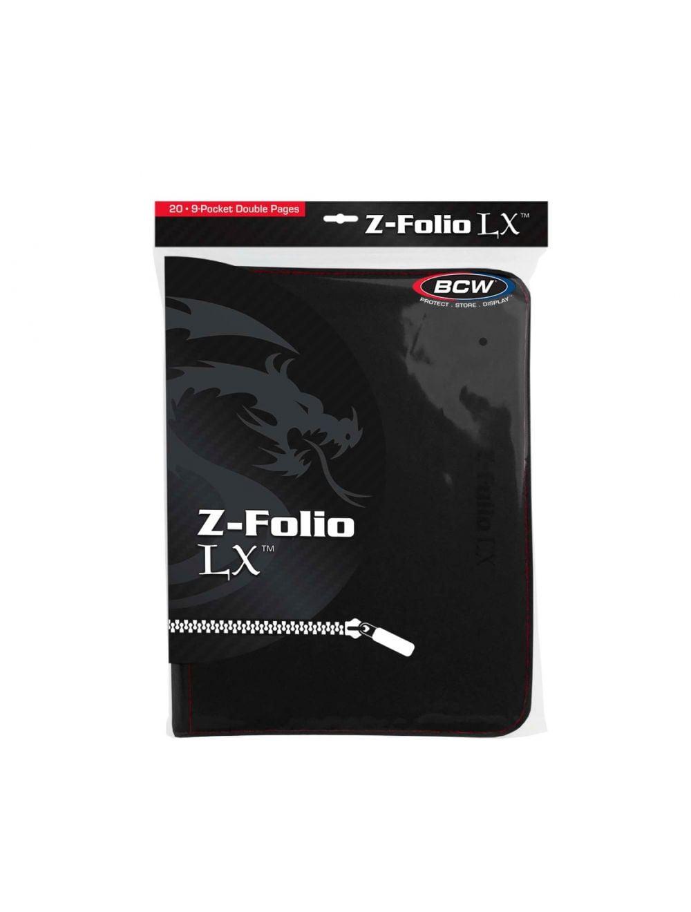 (product) Z Folio 9 Pocket LX Album  Black