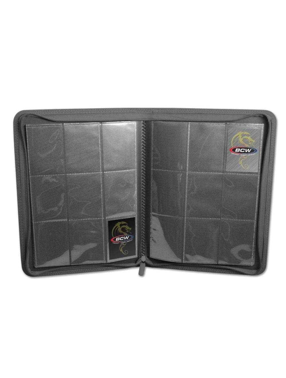 (product) Z Folio 9 Pocket LX Album  Gray
