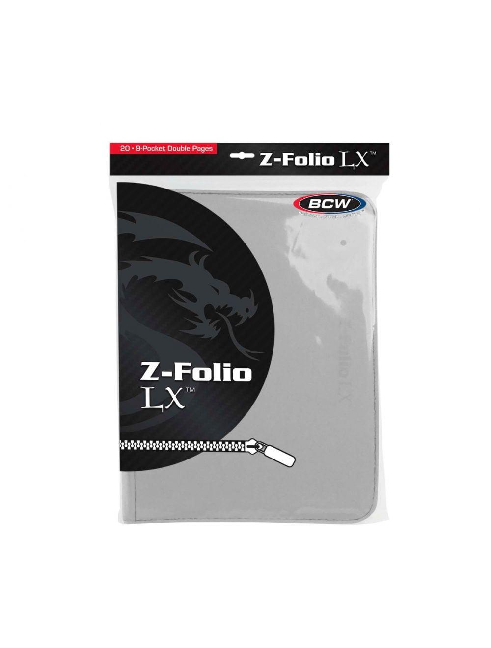 (product) Z Folio 9 Pocket LX Album  White