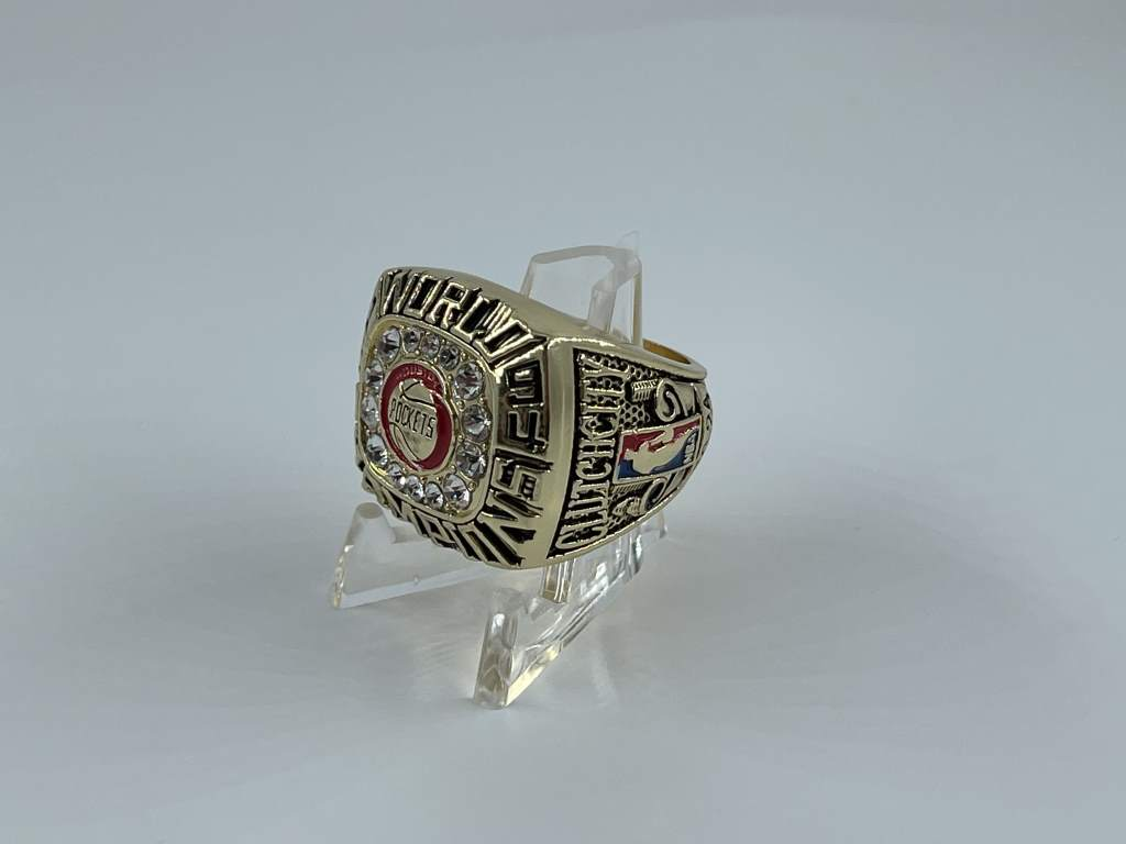 Replica NBA Championship Ring - 1994 Houston Rockets - Hakeem Olajuwon