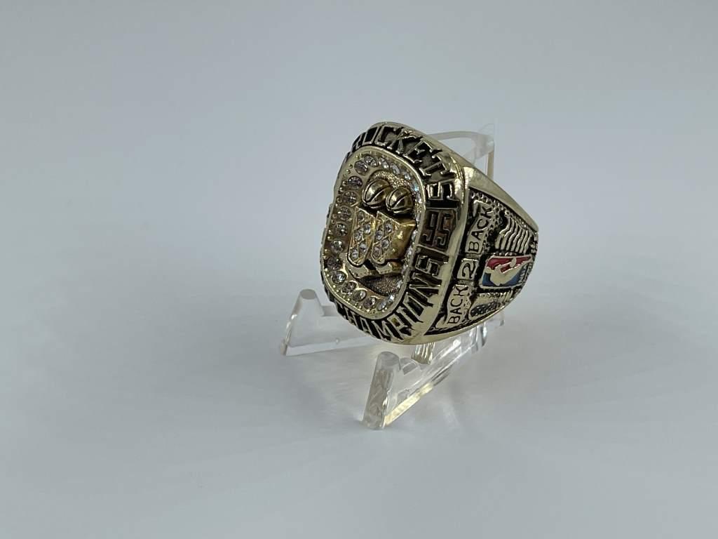 Replica NBA Championship Ring - 1995 Houston Rockets - Hakeem Olajuwon