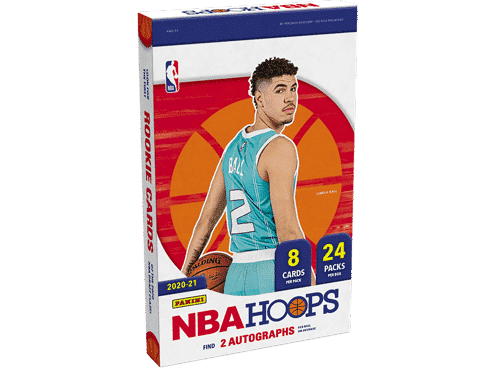 NBA Hoops 2020-21 Hobby 1-Box Random Team Break