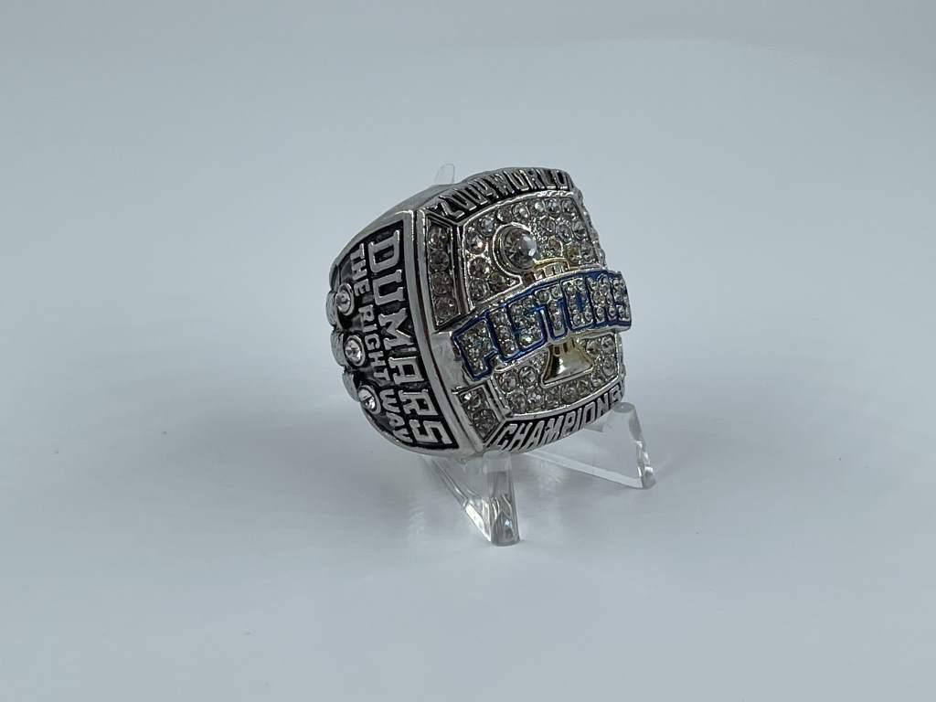 Replica NBA Championship Ring - 2004 Detroit Pistons - Joe Dumars