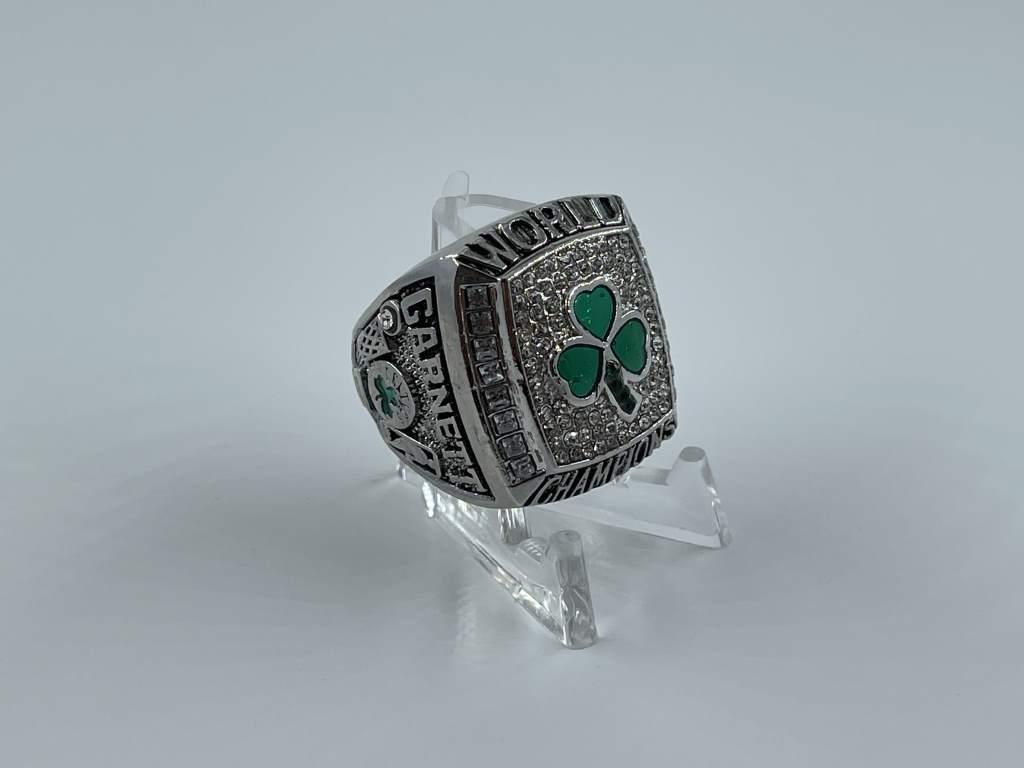 Replica NBA Championship Ring - 2008 Boston Celtics - Kevin Garnett