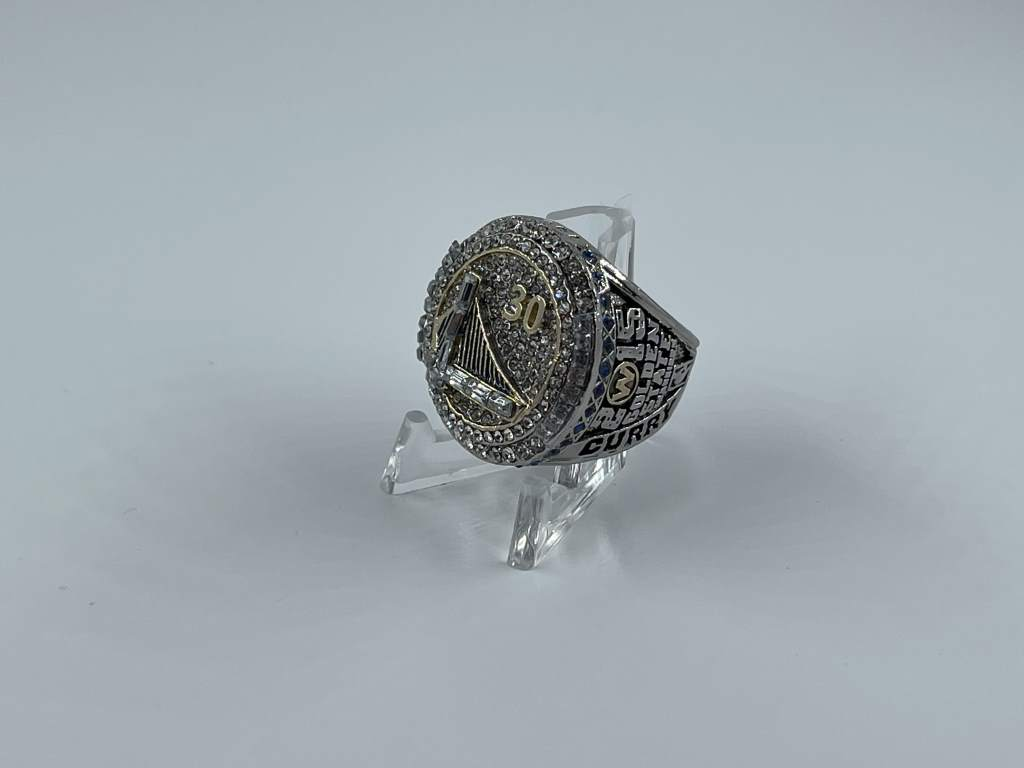 Replica NBA Championship Ring - 2015 Golden State Warriors - Stephen Curry