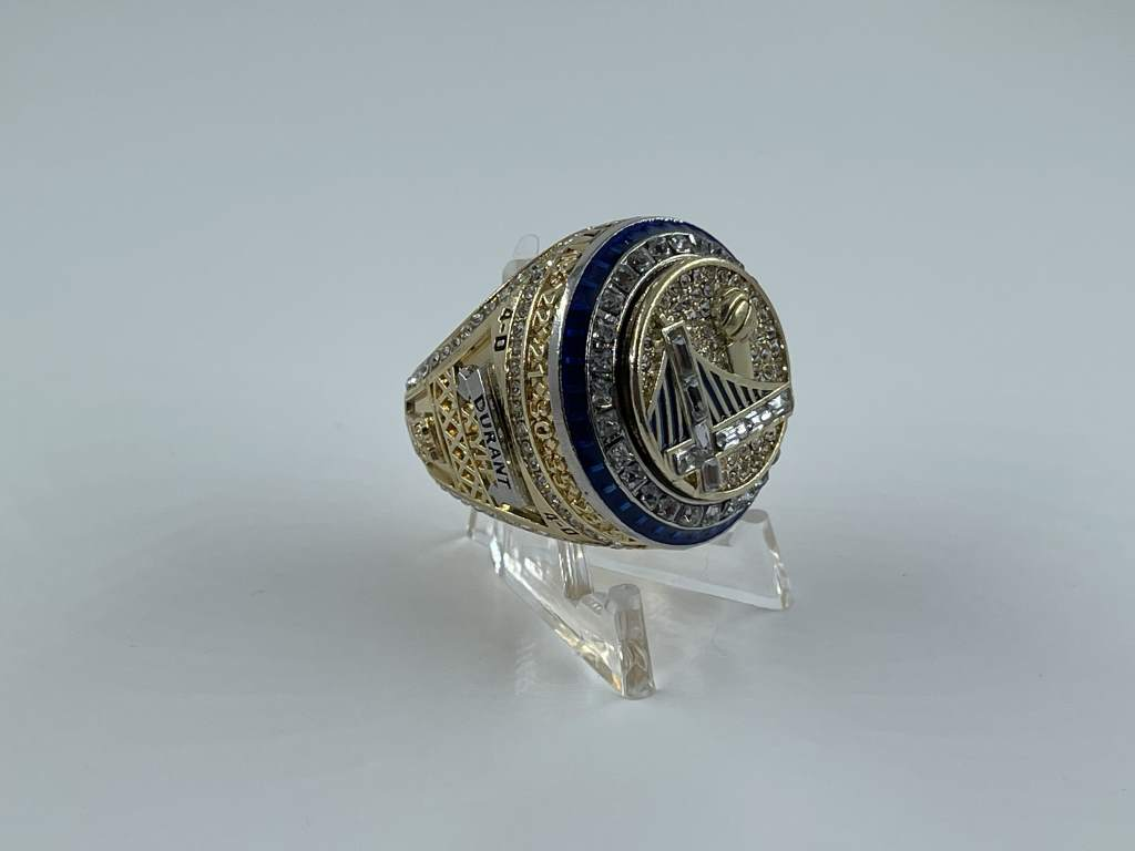 Replica NBA Championship Ring - 2017 Golden State Warriors - Kevin Durant