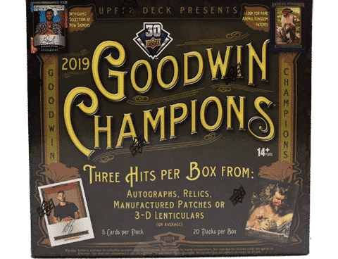 2019 Upper Deck Goodwin Champions Box