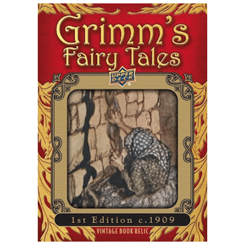 2019 Upper Deck Goodwin Champions Grimms Fairy Tales Illustration Relics 1909 1st Edition