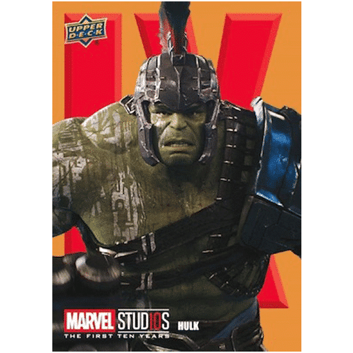 2020 Upper Deck Marvel Cinematic Universe 10th Anniversary Trading Cards Box