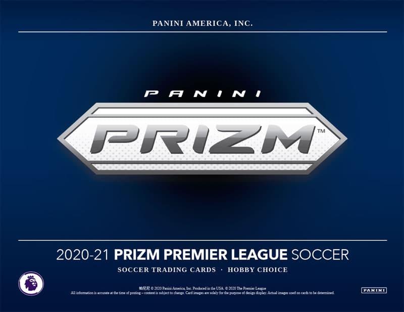 2020-21 Panini Prizm Premier League Soccer Cards Hobby Choice Box