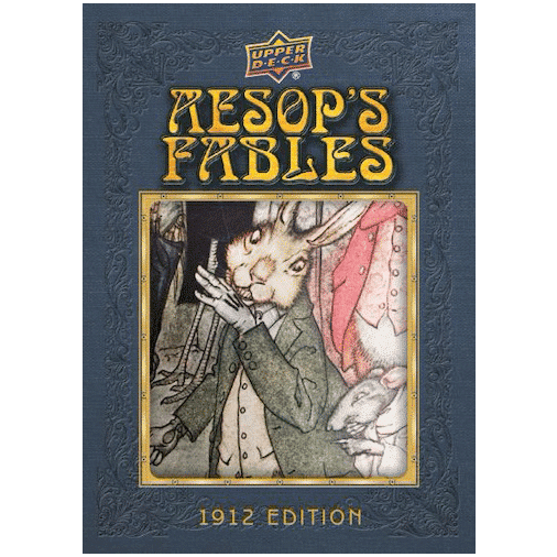 2020 Upper Deck Goodwin Champions Trading Cards Aesop's Fables Illustration Relics