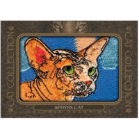 2020 Upper Deck Goodwin Champions Trading Cards Cat Collection Manufactured Patch