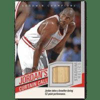 2020 Upper Deck Goodwin Champions Trading Cards Jordans Curtain Call Relics Michael Jordan