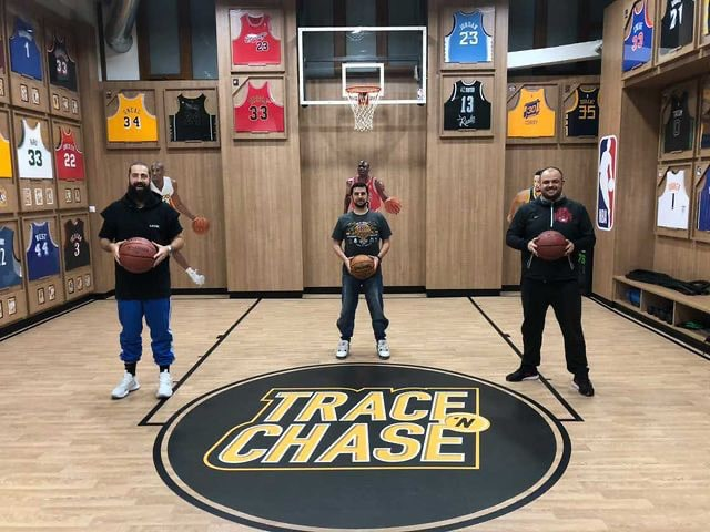Coach Thanasis Molyvdas of the Greek National Team the latest visit to Trace 'N Chase