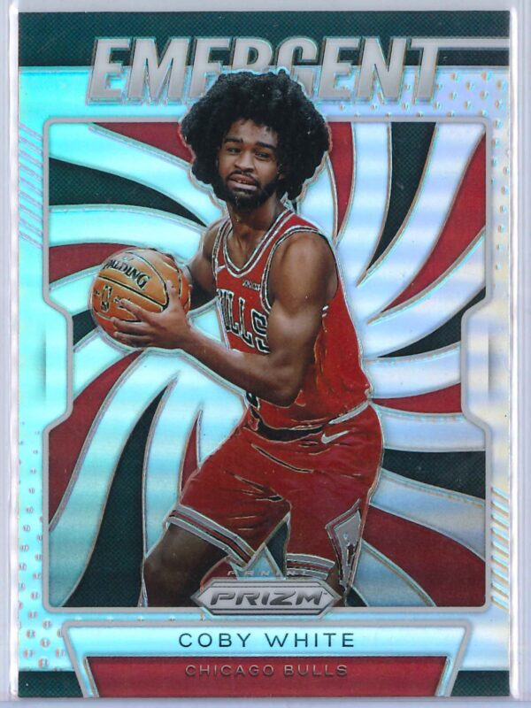 Coby White (2) Panini Prizm 2019-20 Emergent Rookie Silver