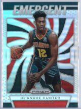 De Andre Hunter Panini Prizm 2019 20 Emergent Rookie Silver 1 scaled
