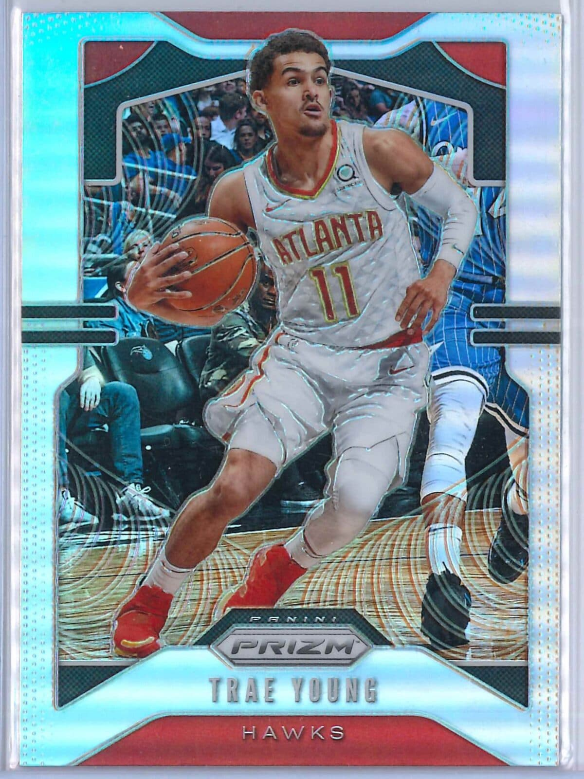 Trae Young (1) Panini Prizm 2019-20 Base 2nd Year Silver