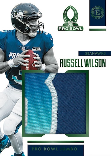 2019-Panini-Encased-Football-NFL-Cards-Pro-Bowl-Jumbo-Jerseys-Russell-Wilson