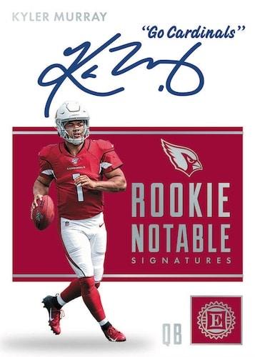 2019-Panini-Encased-Football-NFL-Cards-Rookie-Notable-Signtures-Kyler-Murray