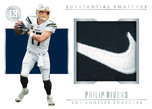 2019-Panini-Encased-Football-NFL-Cards-Substanial-Swatches-Philip-Rivers