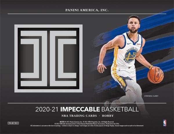 2020-21 Panini Impeccable Basketball Hobby Box