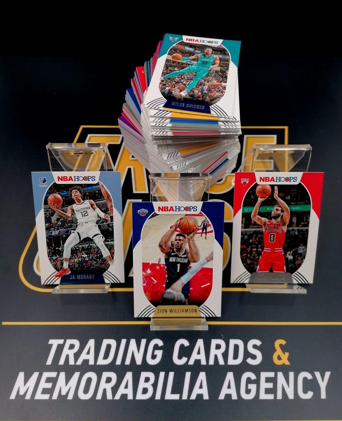 250-Card Complete Set Panini Hoops 2020-21 Base   200 Vets & 50 Rookies