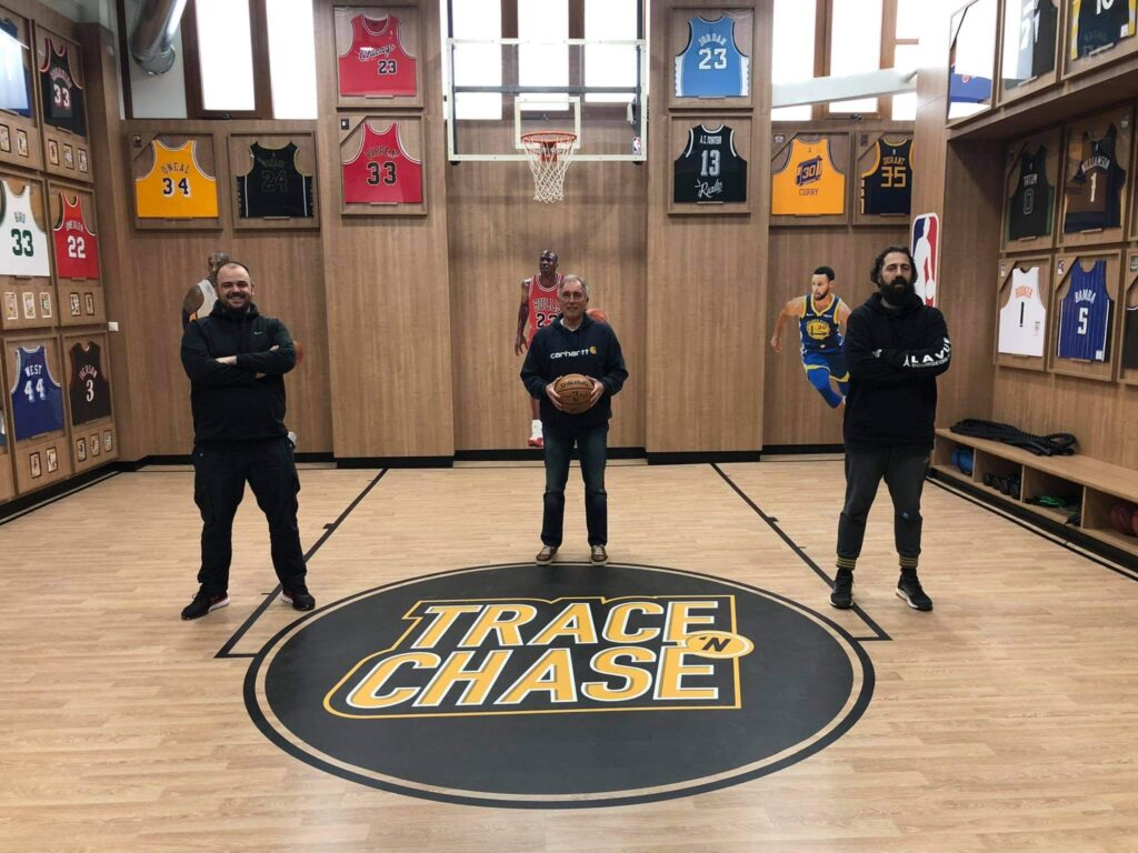 """The Trace 'N Chase team welcomes the """"Tiger"""" of Greek Basketball, Coach Vangelis Alexandris"""