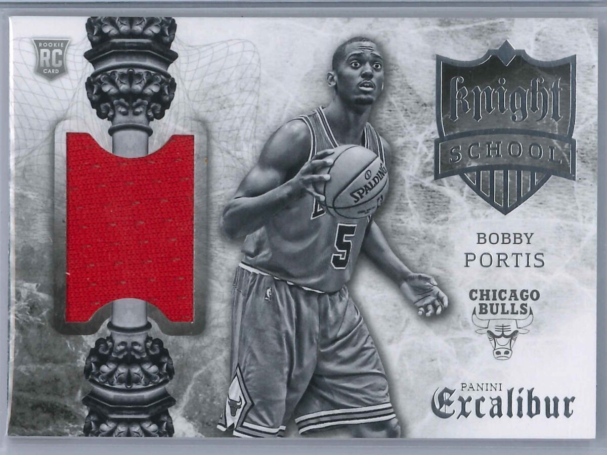 Bobby Portis Panini Excalibur 2015-16 Knight School RC Patch   Rookie Patch