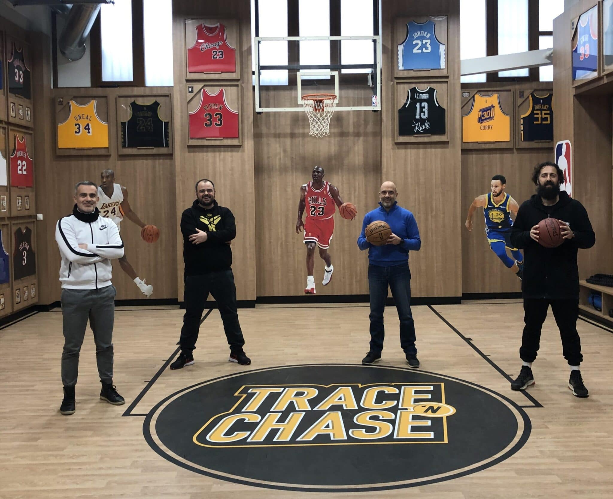 Trace 'N Chase Hobby Shop hosts Coach Aris Lykogiannis of PAOK BC