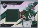 Denzel Mims Panini Limited 2020 Rookie Patch 138199 1 scaled