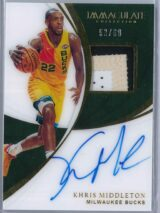 Khris Middleton Panini Immaculate 2018 19 Patch Autograph 5360 3 Color Patch 1 scaled