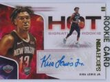 Kira Lewis Jr. Panini Hoops 2020 21 Hot Signatures Rookie RC Auto 1 scaled