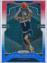 Michael Porter Jr. 1 Panini Prizm 2019 20 Base 2nd Year Red White Blue 1 scaled