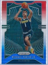 Michael Porter Jr. 2 Panini Prizm 2019 20 Base 2nd Year Red White Blue 1 scaled