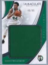 Robert Williams Panini Immaculate 2018 19 Remarkable 4999 Rookie Patch 1 scaled