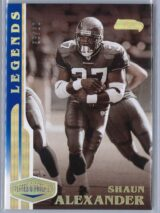 Shaun Alexander Panini Plates and Patches 2020 Legends 5860 1 scaled