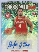 Skylar Mays Panini Hoops 2020 21 Rookie Ink RC Auto 1 scaled